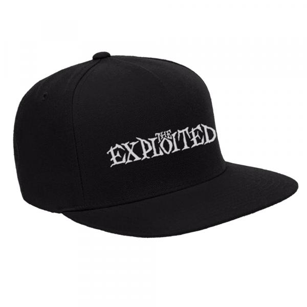 The Exploited - Snapback Cap- Logo - [black]