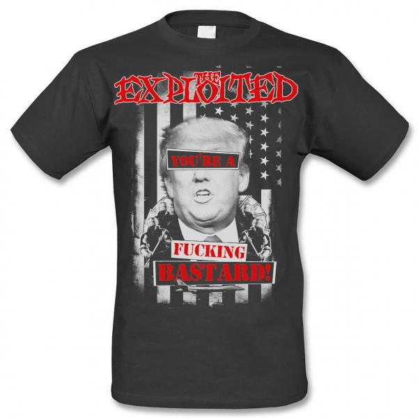 The Exploited - T-Shirt - Fu**ing Bastard - [black]