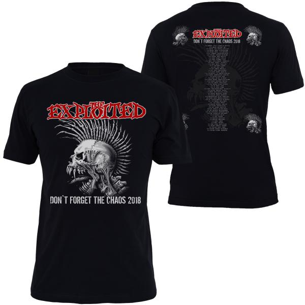 The Exploited - T-Shirt - Tour 2018 - [black]