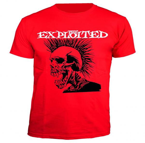 The Exploited - T-Shirt - Anarchy Terror Crew - [red]