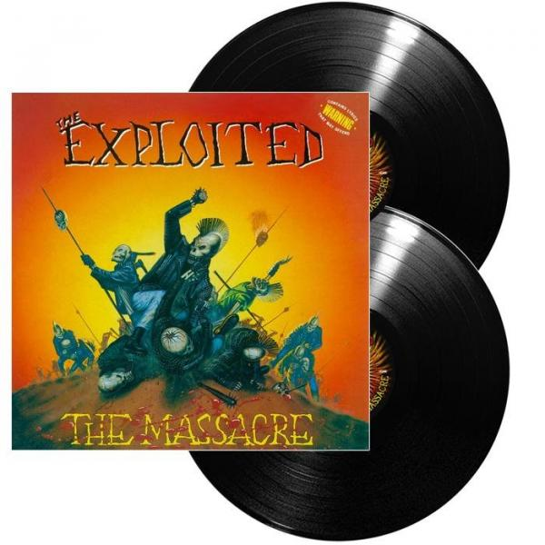 The Exploited - 2LP - The Massacre