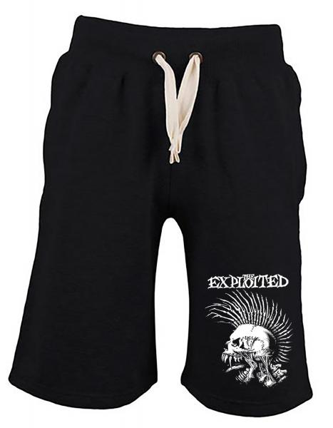 The Exploited - Jog Short - Skull - [black]
