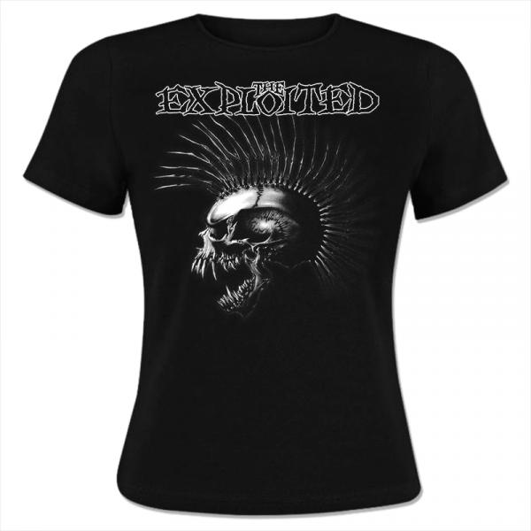 The Exploited - Girl-Shirt - Skull - [black]