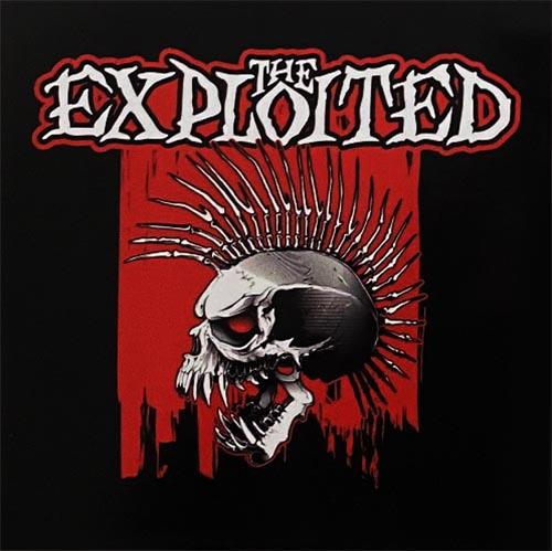 The Exploited - Skull Sticker