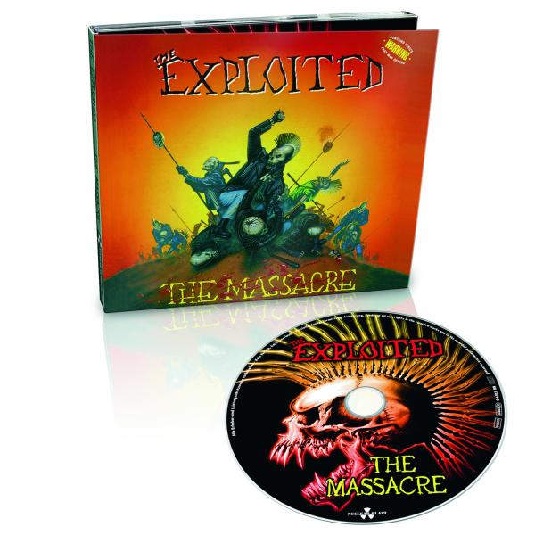 The Exploited - CD - The Massacre - Digi Pack !! Limited !!