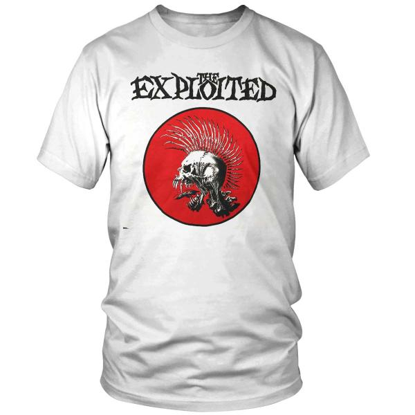 The Exploited - Fight Back - T-Shirt [white]