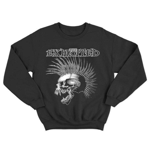 The Exploited - Crewneck - Skull - [black]